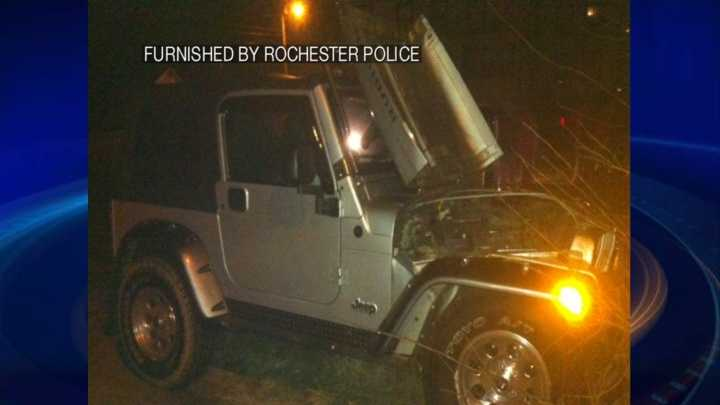 Rochester man charged with DUI after crash into tree