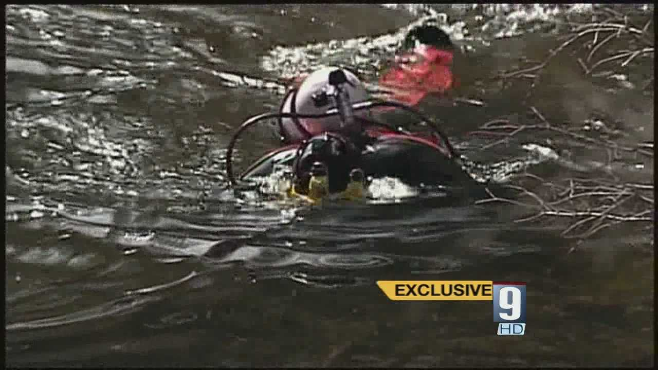 Items discovered by divers in search