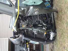 More than 1,000 people lost power after a rollover crash in Hooksett on Monday morning.