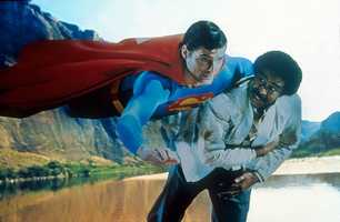 """""""Superman III"""" in 1983 took on a comedic and campy tone, including the addition of comedian Richard Pryor."""