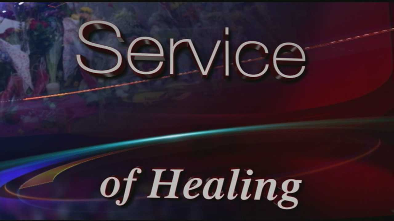 Service of Healing graphic