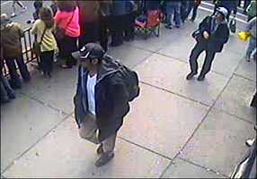 The next few photos show Suspect #1 and Suspect #2 together.