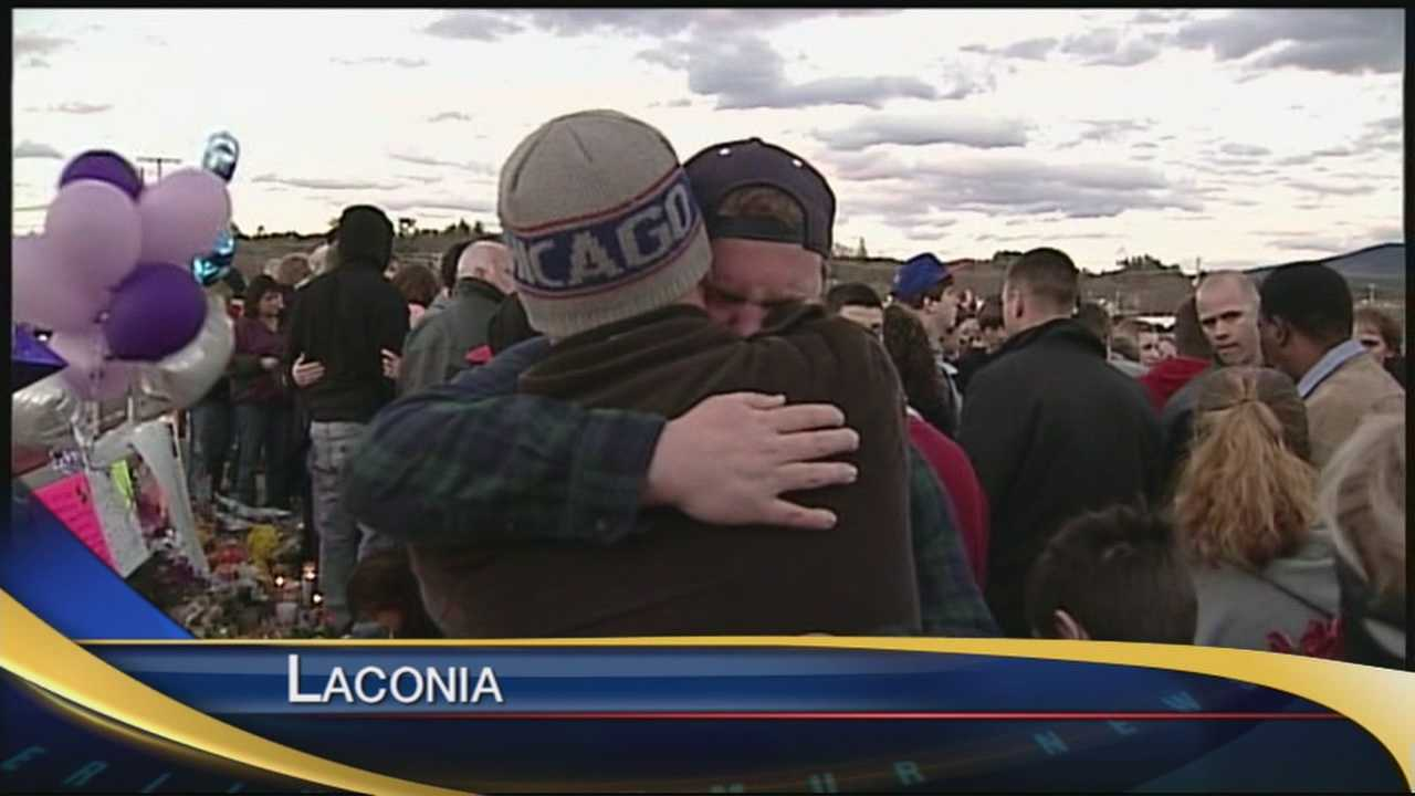 Laconia community members come together after 2 young teens were hit by a car. One lost her life, the other is in serious condition.