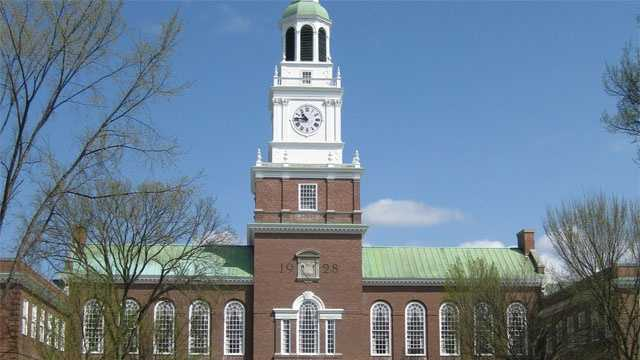 Baker Library at Dartmouth College.