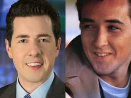 "Adam said John Cusack (seen here in his role in the film, ""Say Anything"") would play Adam in a movie about his own life."
