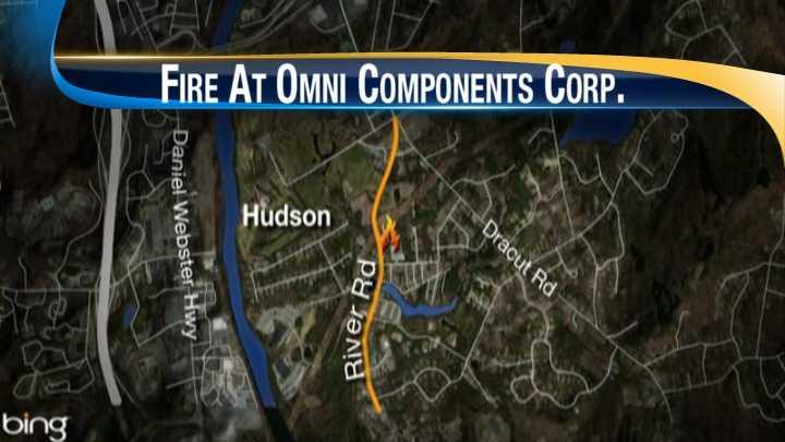 img-Hudson commercial fire