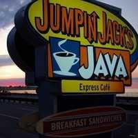 Tie-17) Jumpin Jack's Java Express Cafe at Hampton Beach