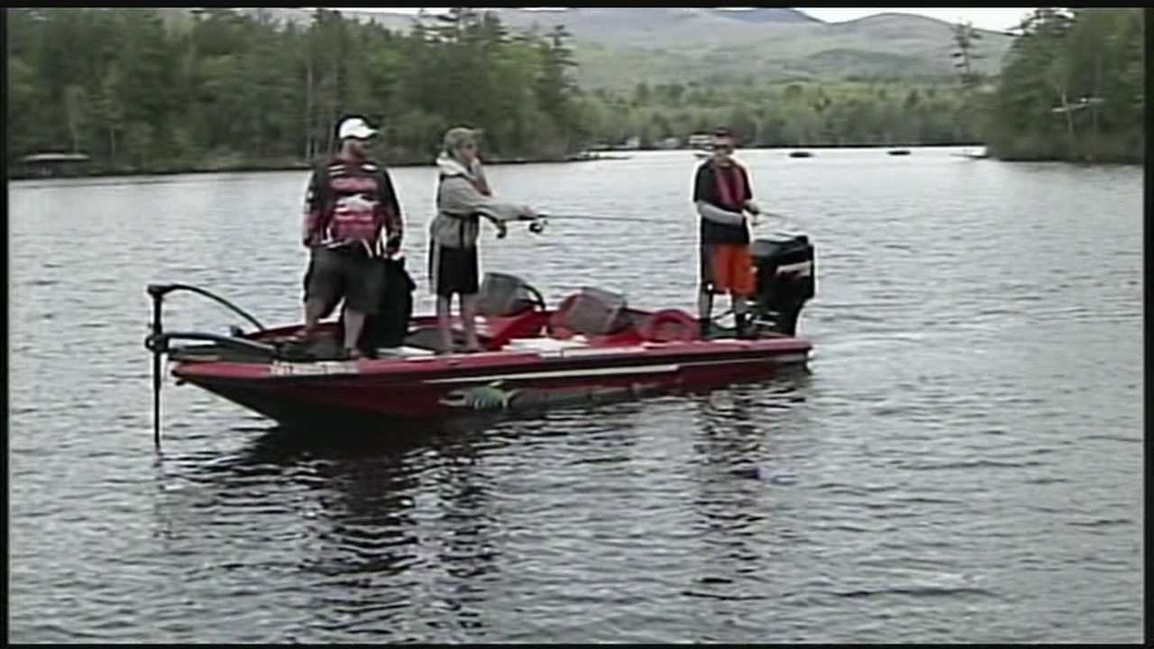 Students compete in bass fishing tournament