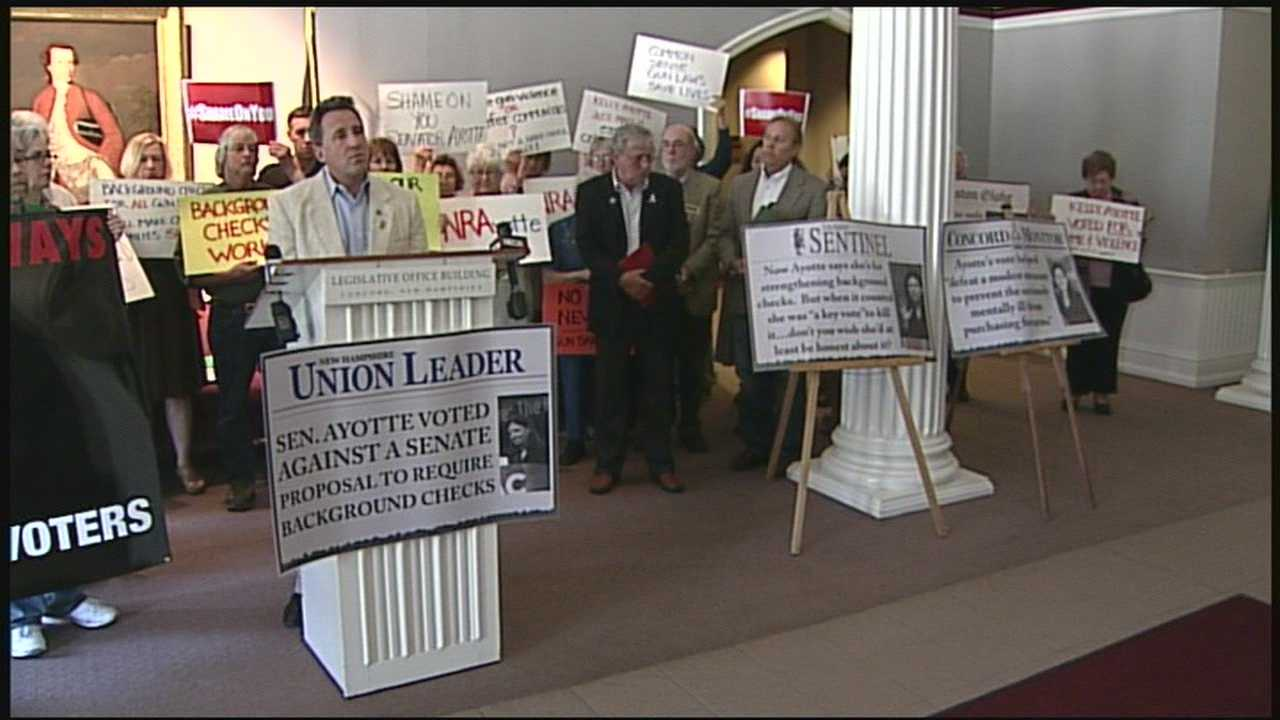Ayotte criticized for background check vote