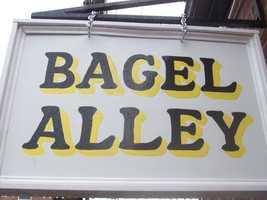Tie-No. 5: Bagel Alley in Nashua