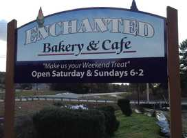 Tie-No. 3: Enchanted Bakery & Cafe in Spofford