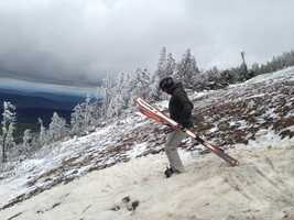 Killington kept their lifts open this year until May 26, the longest season in the East.