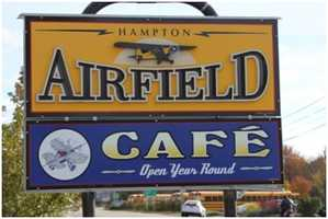 Tie-19) Airfield Cafe in North Hampton