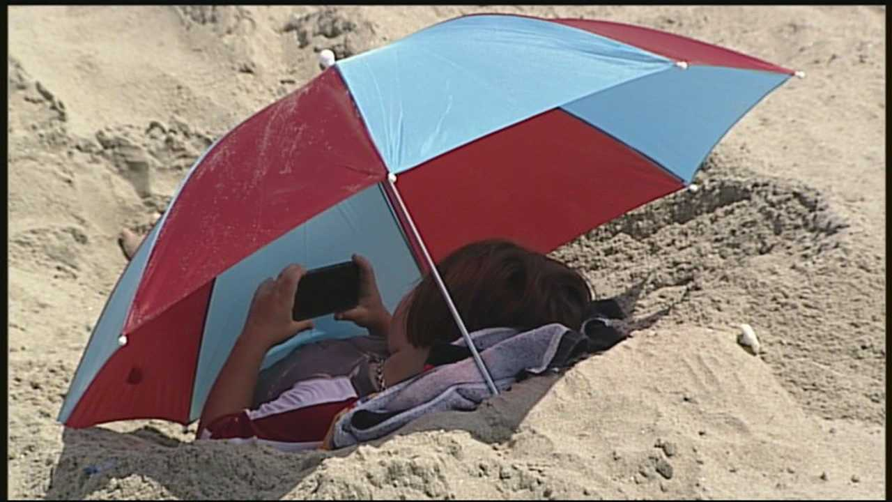 Temperatures hit records in parts of the state Friday, and more hot weather was in store for the weekend.