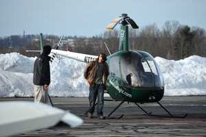 Jake prepares for his first solo flight on Friday, February 22, 2013