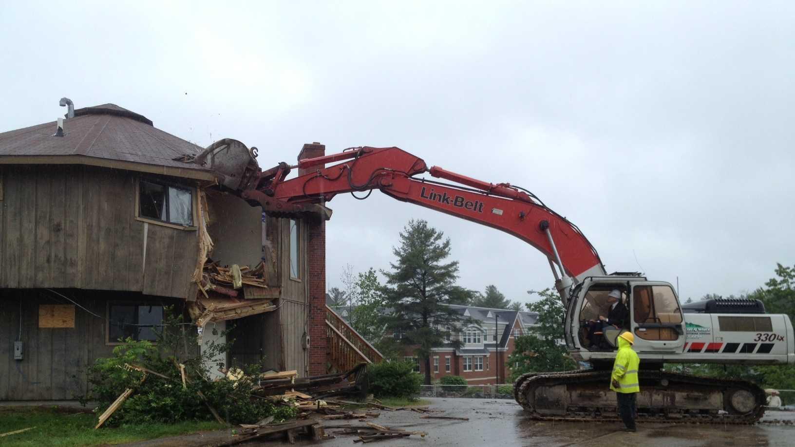 SNHU president demolition