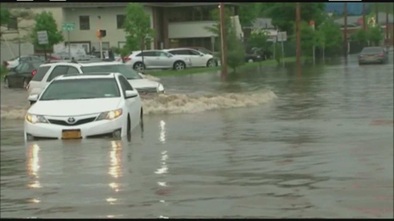 Southeastern Mass. hardest hit by Andrea's rain