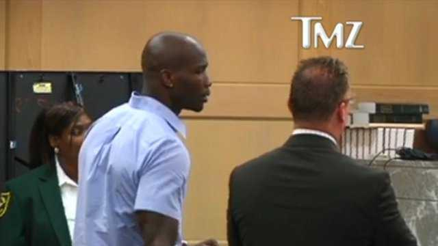 Chad Johnson slapping his attorney in court