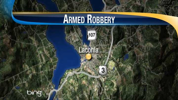 Laconia Armed Robbery map