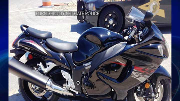 A motorcycle was clocked going 152 mph on Interstate 93