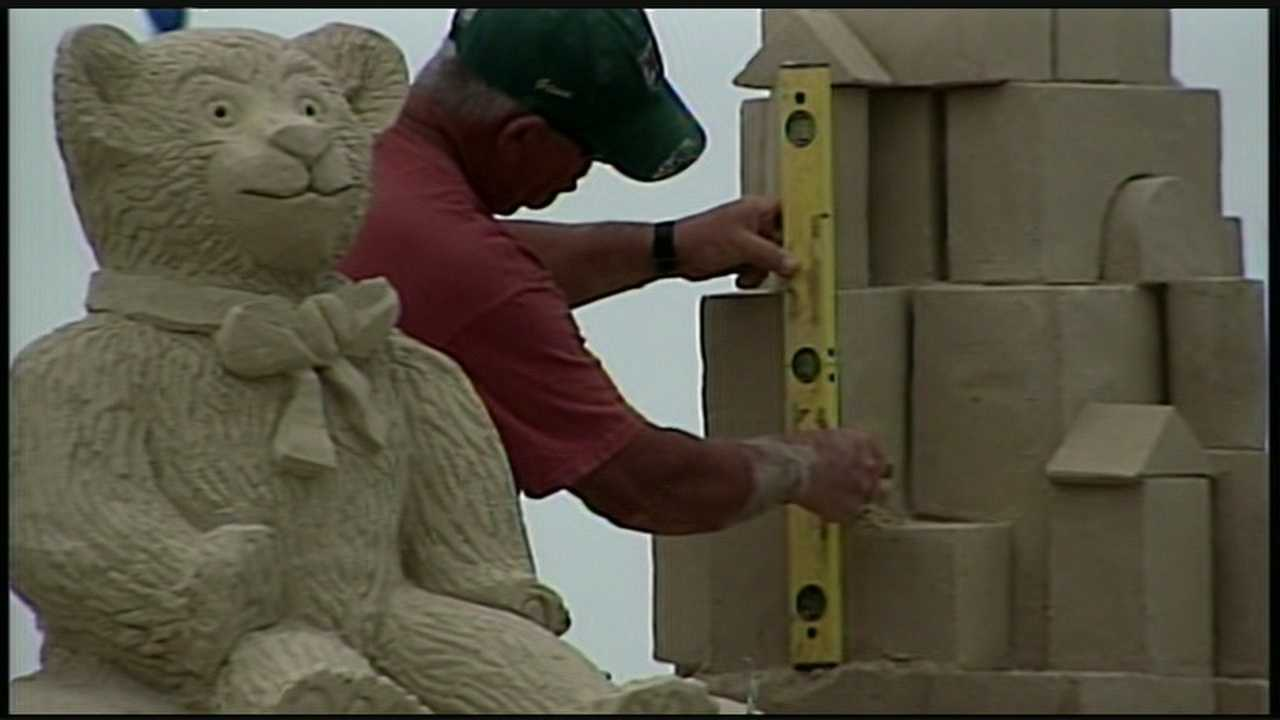Hampton Beach sand sculpting competition coming to close