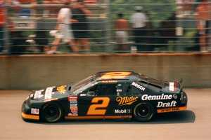 Rusty Wallace won the inaugural Slick 50 300 in July 1993. That race was also Davey Allison's final race, as he was involved in a fatal helicopter crash the next day.
