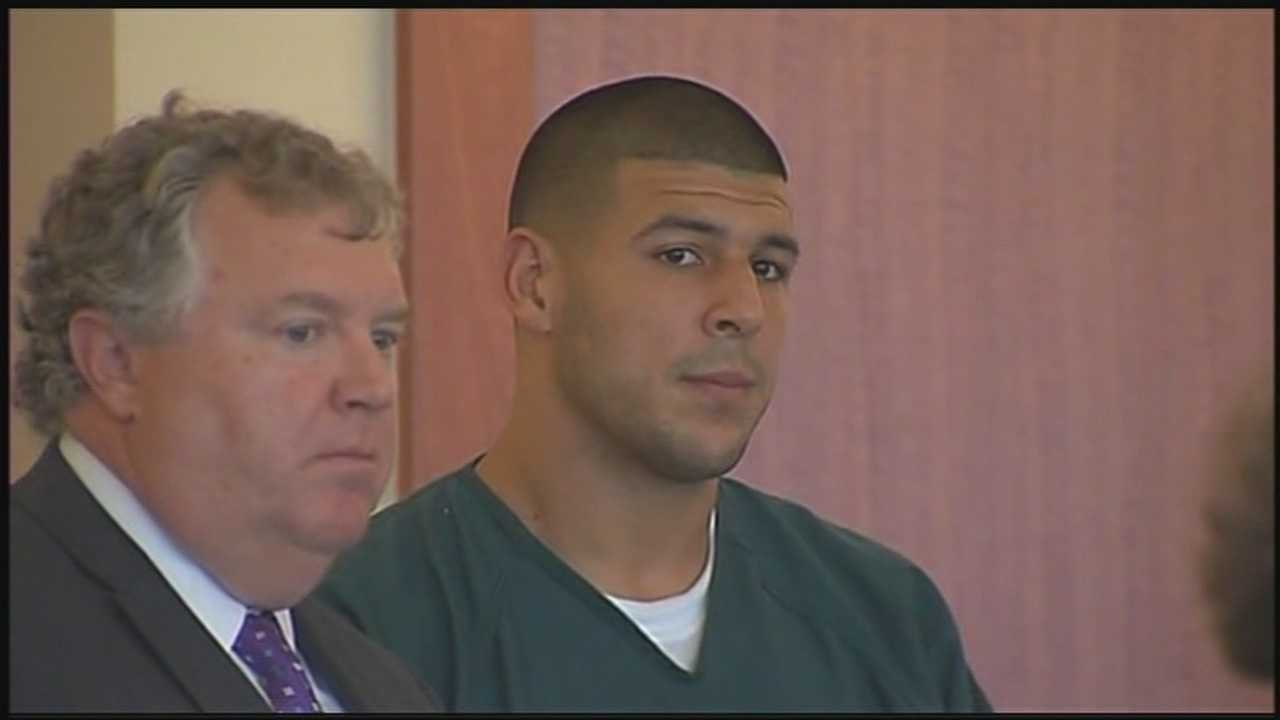 Man sought in connection with Aaron Hernandez
