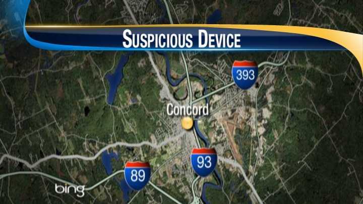 Concord suspicious item