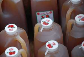 Apple cider was named the state beverage in 2010.