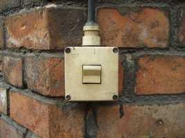 Install motion-sensor lights for dark parts of your yard.