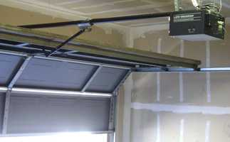 Don't leave your garage door opener in an open spot.