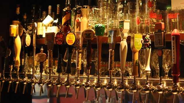 Beer bar tap