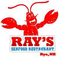 Tie-22. Ray's Seafood Restaurant in Rye.