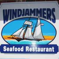 Tie-18. Windjammers Seafood Restaurant in Rochester.