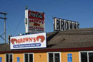 No. 4) Brown's Seafood in Seabrook.