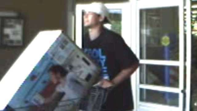 Man stole 2 TVs from Tilton Wal-Mart, police say
