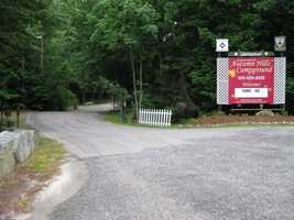 No. 11) Autumn Hills Campground in Weare.
