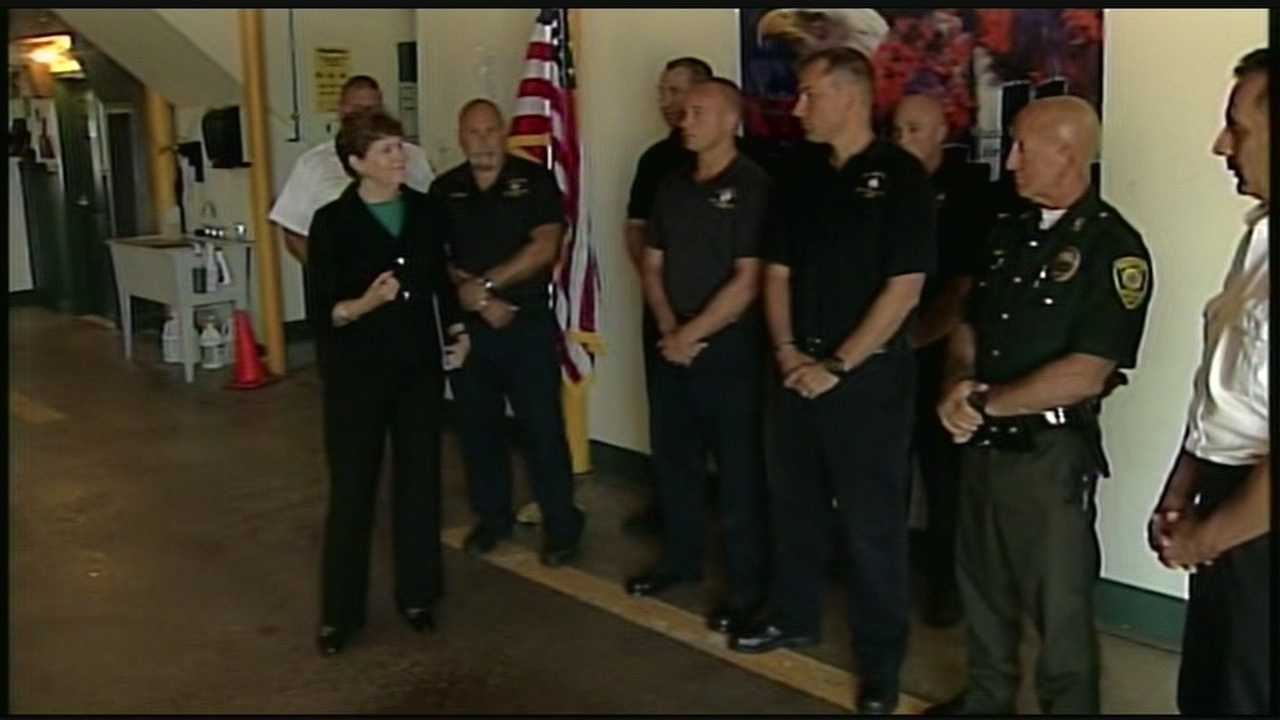 First responders honored for rescues