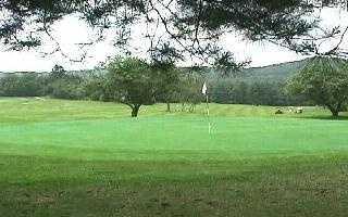 Tie-8) Den Brae Golf Course in Sanbornton.