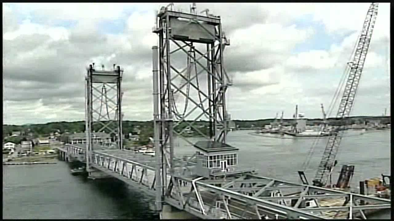 The new Memorial Bridge opened to traffic Thursday, more than two years after it was closed.