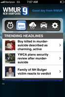 You'll also get the local headlines of the morning from WMUR.com.