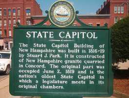 Concord was thriving throughout the 18th century. By the end of the American Revolution, Concord's central geographical location made it the logical choice to make the state capital of New Hampshire.