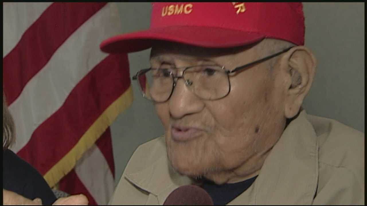 World War II code talker shares experiences in Portsmouth