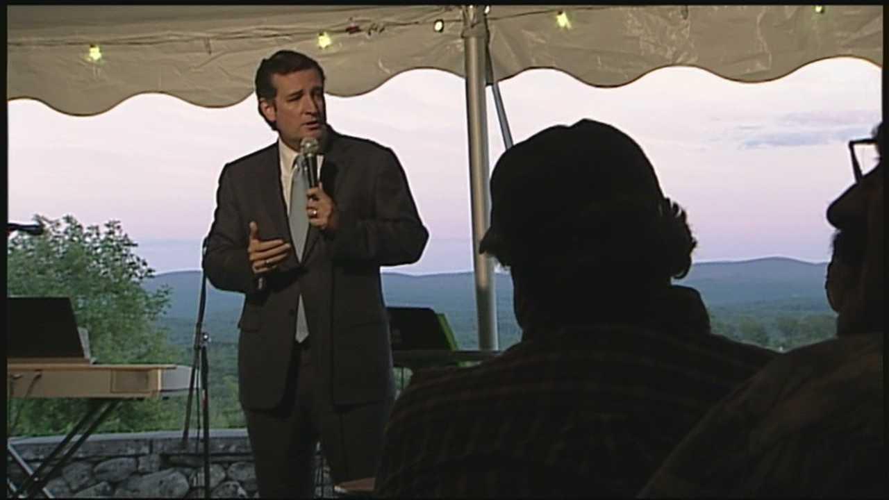 Sen. Ted Cruz tries to fire up NH Republicans