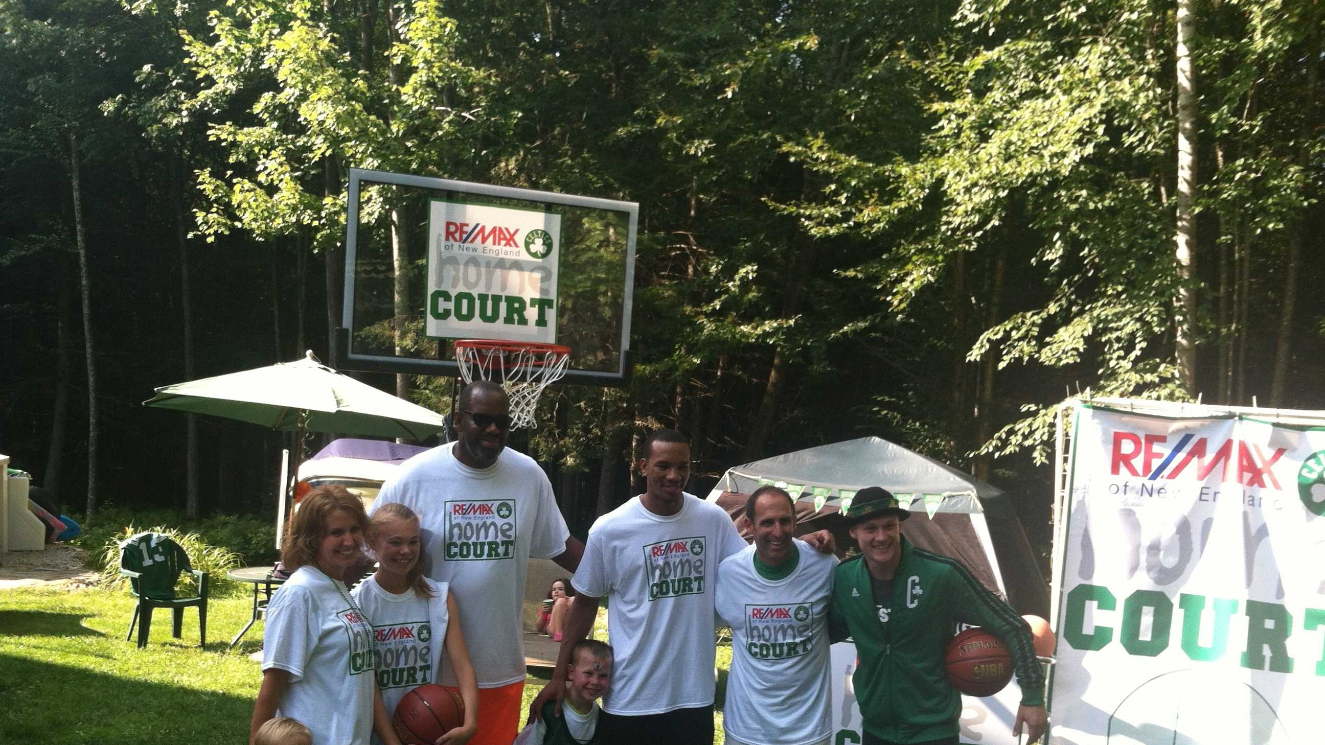 img-Celtics visit Barrington family