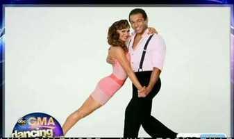 "Corbin Bleu of ""High School Musical"" dancing with Karina Smirnoff"