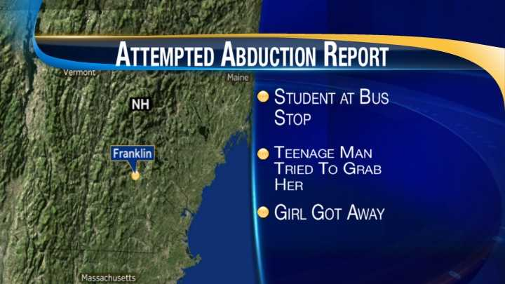 map-Franklin attempted abduction