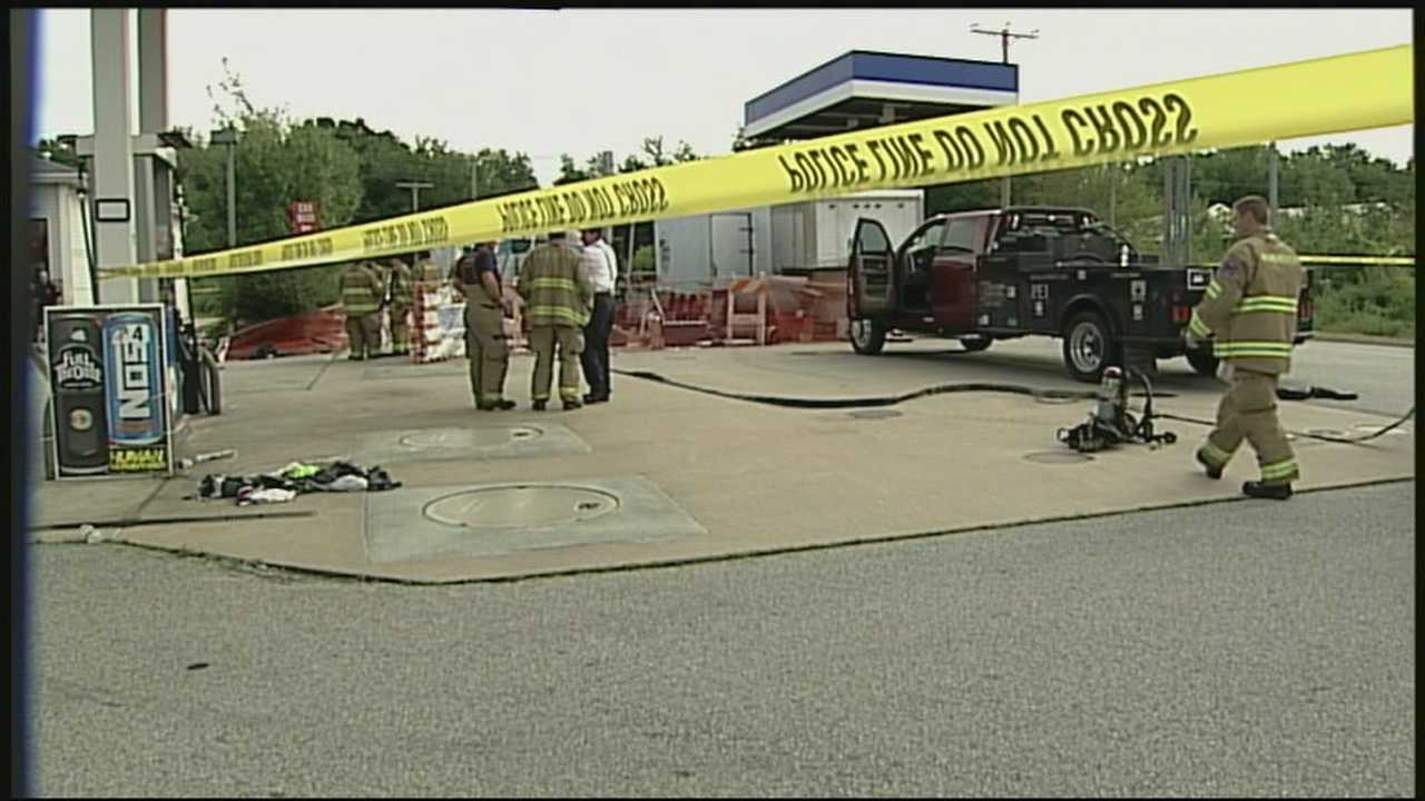 Workers seriously injured in fire in diesel tank