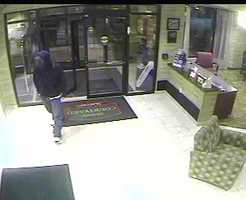 Manchester police say the Courtyard Marriott Hotel at 700 Huse Road was robbed late Monday night.