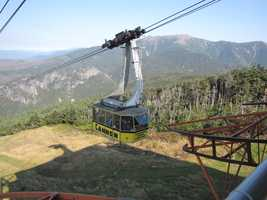 Visitors can also tour the Cannon Mountain aerial tramway, which began operating in 1938 as the first passenger aerial tramway in North America.